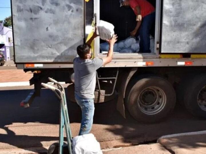 Selvíria recebe mais de 1200 cestas básicas e 6 mil máscaras