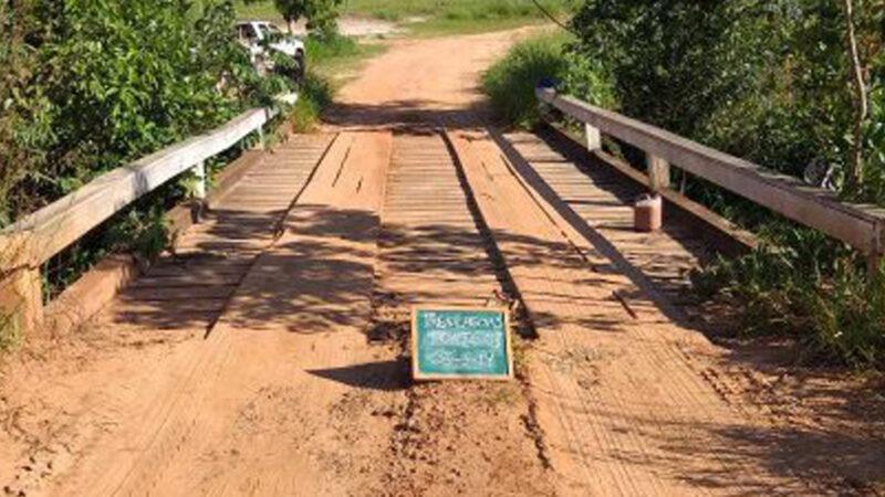 Três Lagoas: Prefeitura autoriza construção de pontes de concreto nos córregos Agua Tirada e Lagoa Amarela