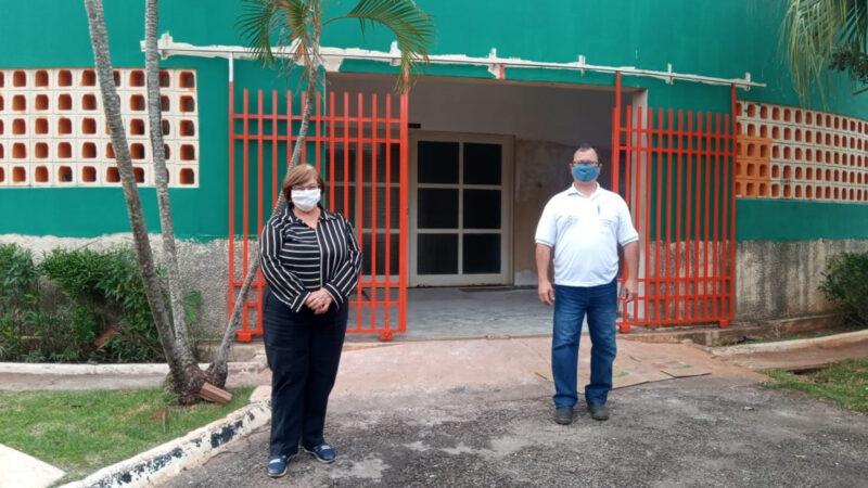 Castilho: Prefeita Fátima Nascimento inicia reforma do Velório Municipal