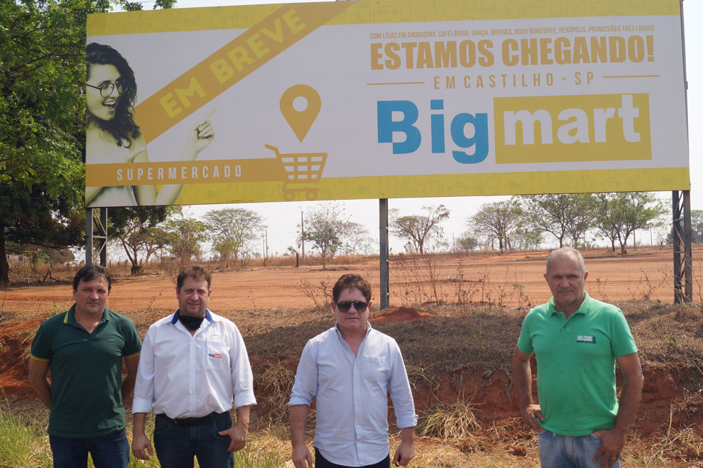 Castilho: Mercado Big Mart iniciará construção da 21ª loja