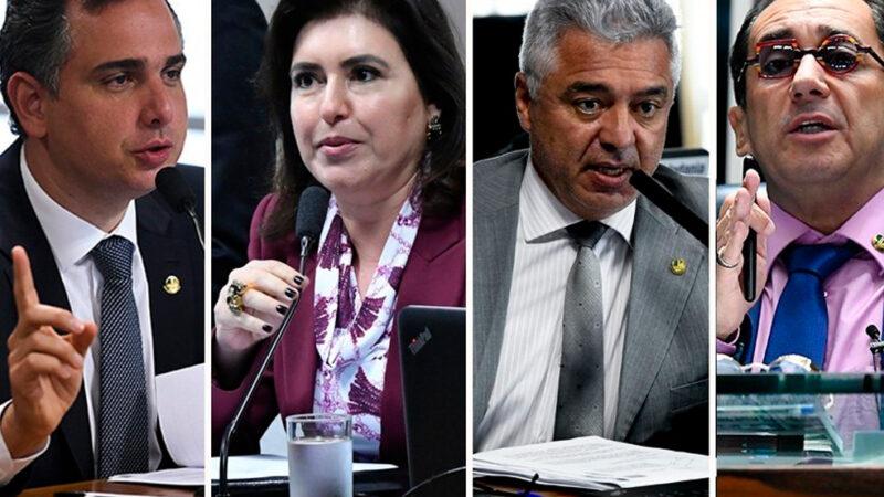 Quatro senadores disputam a Presidência do Senado em fevereiro, dentre eles a senadora Simone Tebet (MDB-MS)